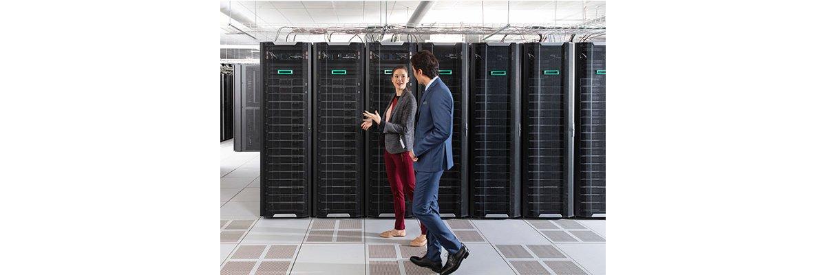 Sparen bei Ihrer Datensicherheit? Mit HPE StoreEver ganz einfach! - Sparen bei Ihrer Datensicherheit? Mit HPE StoreEver ganz einfach!