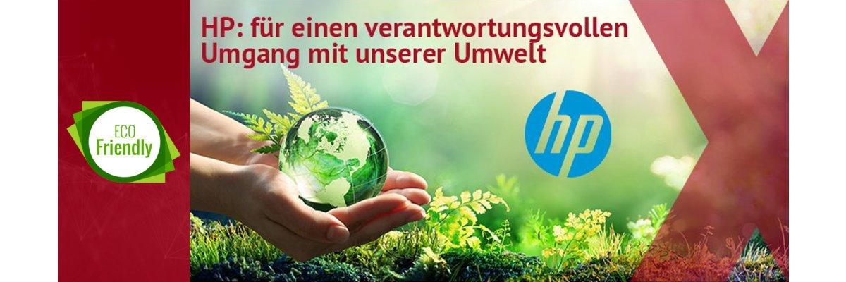 Nachhaltigkeit: Bei HP seit Beginn auf der Agenda -