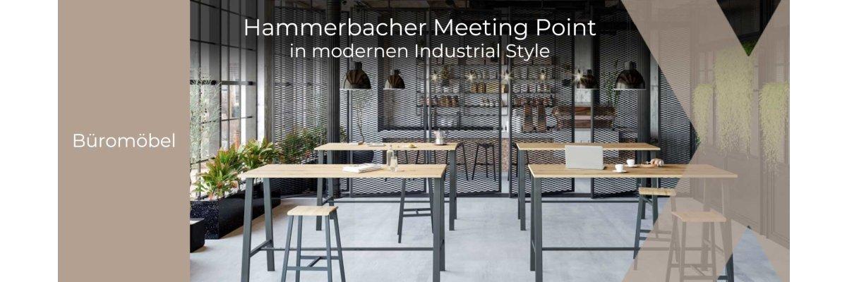 Steht jedem Unternehmen gut: Der Hammerbacher Meeting Point - Der Hammerbacher Meeting Point bei OfficeXpress GmbH