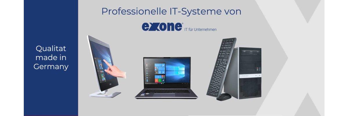 IT Systeme von exone: Qualität ohne Kompormisse -