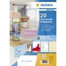 HERMA HOME Etiketten A4, Laser,Inkjet,Kopierer,Farblaser,...