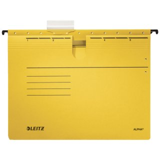 1984 Hängehefter ALPHA® - kfm. Heftung, Recyclingkarton, gelb