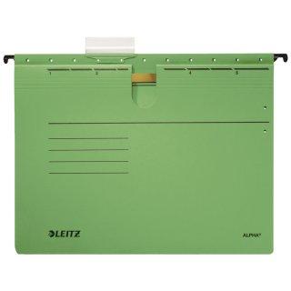 1984 Hängehefter ALPHA® - kfm. Heftung, Recyclingkarton, grün