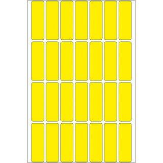 HERMA Vielzweck-Etiketten, zum Markieren, Adressieren, 13 x 40 mm, gelb