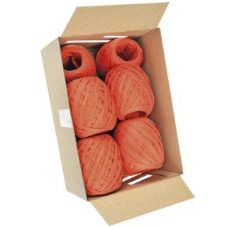 Eiknäuel Raffia - 7 mm x 30 m, orange