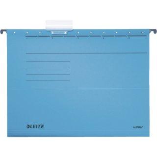 1985 Hängemappe ALPHA® - Recyclingkarton, blau