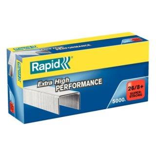 RAPID Heftklammern 26/8+mm Super Strong, verzinkt, 5000 Stück