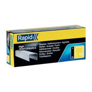 RAPID Heftklammern 13/14mm, verzinkt, 5000 Stück