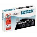 RAPID Heftklammern 21/6mm Super Strong, verzinkt, 1000...