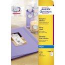 Avery Zweckform® C6081-10 Hochglanz-Etiketten, 88,9 x...