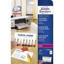 Avery Zweckform® C32026-25 Premium Visitenkarten, 85...