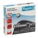 RAPID Heftklammern 9/17mm Super Strong, verzinkt, 1000...