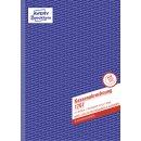 Avery Zweckform® 1757 Kassenabrechnung, 1.& 2.Bl....