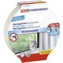 tesa doppelseitiges Montageband Powerbond TRANSPARENT, 5m...