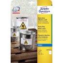 Avery Zweckform® J4775-10 Wetterfeste...