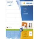 Herma 4450 Etiketten Premium A4, weiß 70x32 mm...