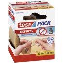 Verpackungsklebeband tesapack®, PVC, 33 m x 38 mm,...