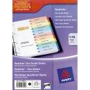 Avery Zweckform® 1735501 Spezialkarton Register, DIN...