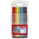 Fasermaler Pen 68 - Etui, 10 Farben