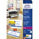 Avery Zweckform® C32016-25 Premium Visitenkarten, 85...