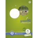 Heft - LIN1, A5, 16 Blatt, 90 g/qm, 5/5/5 mm liniert