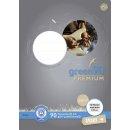 Notenheft - A4, 8 Blatt, 90 g/qm, 12 Notensysteme