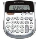 Mini-Tischrechner TI-1795 SV, Solar- und Batteriebetrieb,...