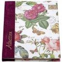 """Adressbuch """"Rosen"""" - A6, 20-tlg. Register"""