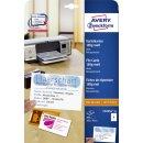 Avery Zweckform® C32254-25 Karteikarten, 105 x 70 mm,...