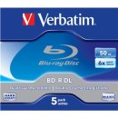 BD-R 50GB 6x JC(5) Verbatim BluRay, Kapazität: 50GB