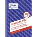 1722 Lieferschein, DIN A6, selbstdurchschreibend, 2 x 40...