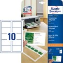 Avery Zweckform® C32011-500 Superior Visitenkarten,...