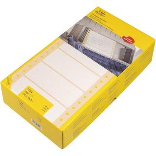 Avery Zweckform® 5114 Universal-Etiketten, 139,7 x 99,2 mm, 1-bahnig, 1 Pack/1.500 Etiketten, weiß