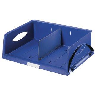5230 Briefkorb Sorty, A4/C4, Polystyrol, blau