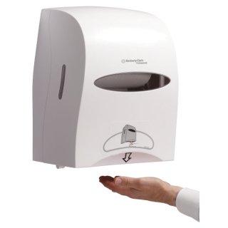 Elektronischer Rollenhandtuchspender - weiß, Modell 9960