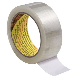 Verpackungsklebeband 309 - 66m x 50mm, transparent