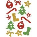 3728 Sticker MAGIC Symbole, glittery
