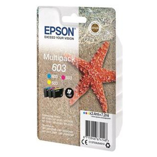 EPSON EXPRESSION HOME INK 603 3-COLOUR-MULTIPACK C/M/Y, Kapazität: 7,2ML