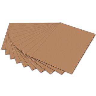 Tonpapier - 50 x 70 cm, hellbraun