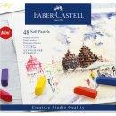 Faber-Castell Creative Studio Softpastellkreiden Mini, 24...