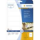 Herma 10907 Etiketten A4 weiß 97x42,3 mm extrem...