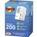 FRITZ!DECT 200 Funk-Schalt- und Messsteckdose Innenbereich