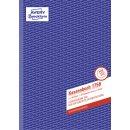 1756 Kassenbuch, DIN A4, nach Steuerschiene 300, 2 x 40...