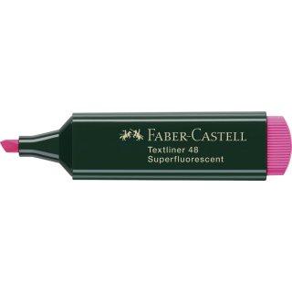 Textmarker 48 REFILL nachfüllbar, rosa, Einzelstift