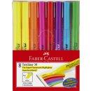 Faber-Castell Textmarker TEXTLINER 38, sortiert, 8er Etui