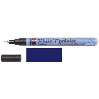 Marabu Brilliant Painter Nachtblau 293, 0,8 mm