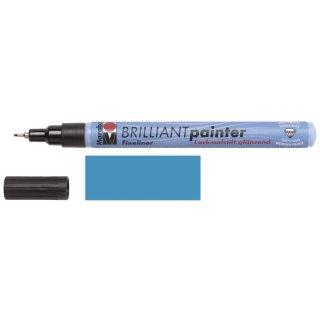 Marabu Brilliant Painter Metallic-Blau 752, 0,8 mm