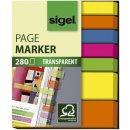 Haftmarker Folie - 2x 50x12 mm,  5x 50x6 mm, 5 Farben,...