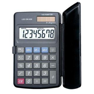 Solar-Taschenrechner DK-029, grau, 8-stellig