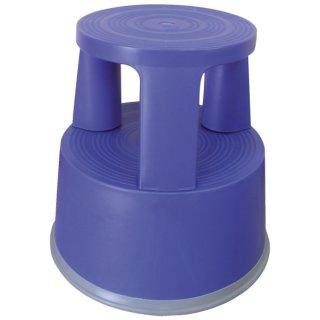 Rollhocker aus Kunststoff - Gewicht 2,9 kg, blau